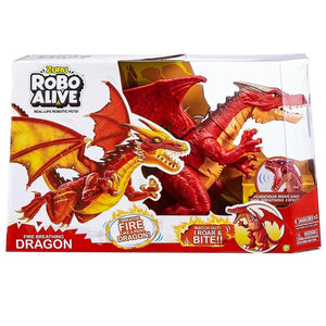 Zuru Robo Alive Fire Breathing Robotic Dragon