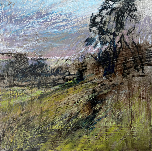 Old Sarum 8 (toward Little Durnford) - Limited Edition Print