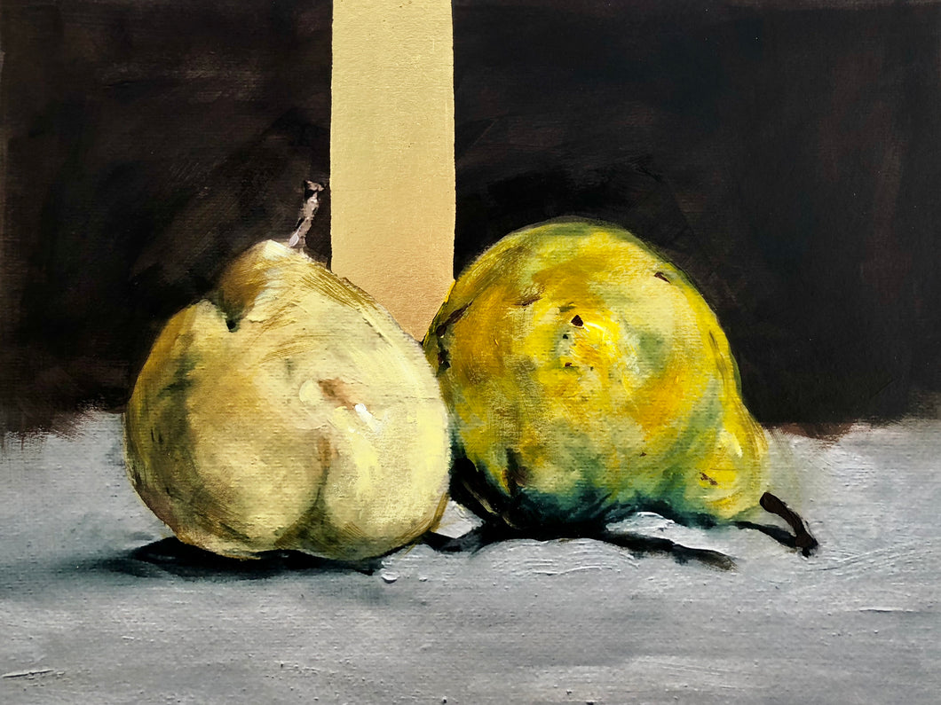 Golden Pears (after Edouard Manet)