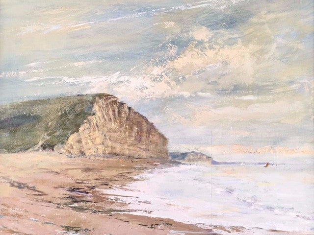 Cliffs at West Bay, Gift Cards - Martin Memory Art Gallery