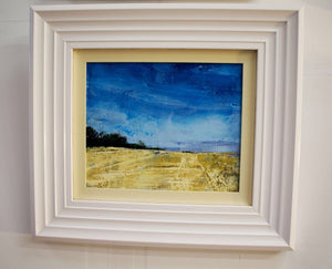 Cornfields towards Downton Original - Martin Memory Art Gallery