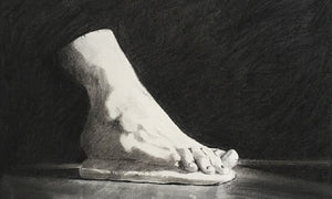 Foot (Gian Lorenzo Bernini) Original by Martin Memory Art Gallery