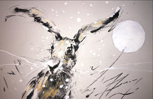 Load image into Gallery viewer, Winter Hare- limited edition print- Martin Memory Art Gallery