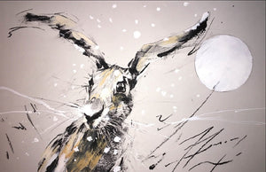 Winter Hare- limited edition print- Martin Memory Art Gallery