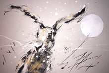 Load image into Gallery viewer, Winter Hare Original - Martin Memory Art Gallery