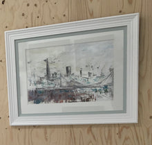 Load image into Gallery viewer, London Skyline from Chelsea Original by Martin Memory Art Gallery