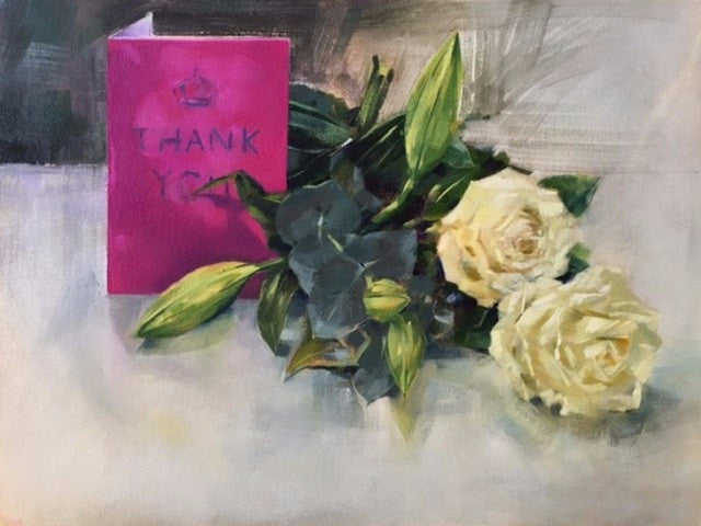 Thank you roses Gift Cards - Martin Memory Art Gallery