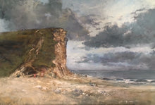Load image into Gallery viewer, West Bay Cliffs Original - Martin Memory Art Gallery
