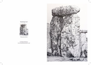 Stonehenge Arch Gift Cards - Martin Memory Art Gallery
