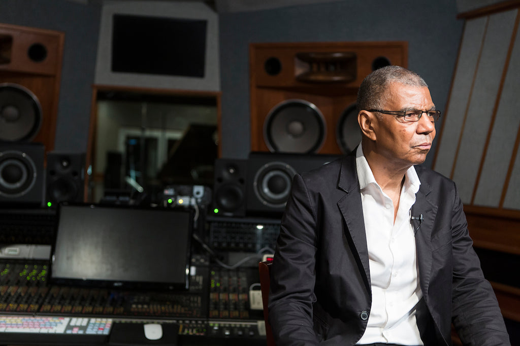 Jack DeJohnette in the studio