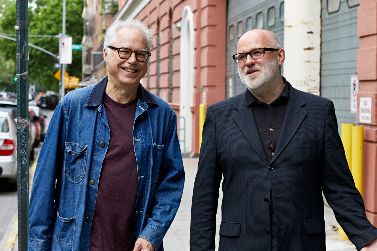 Skúli Sverrisson and Bill Frisell | ©Jordan Kleinman