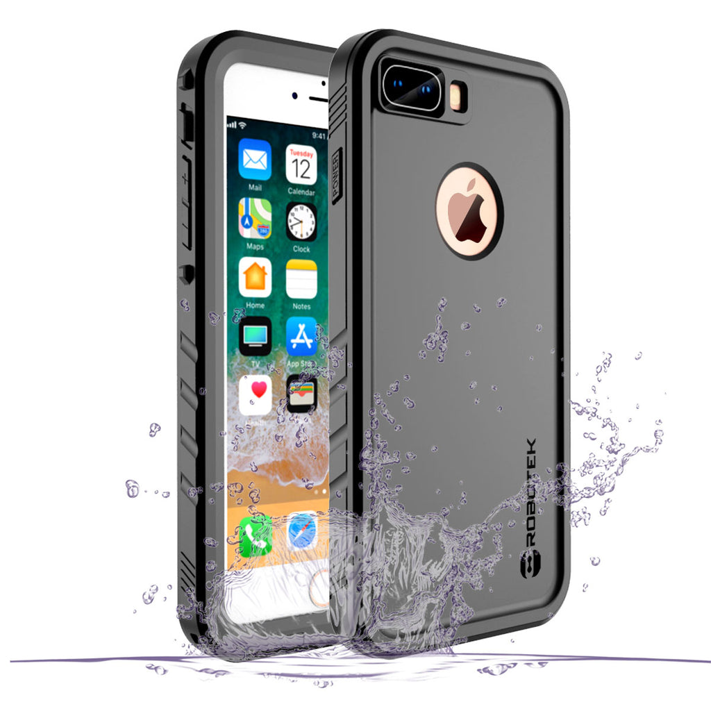 the best attitude 65d61 8773e Apple iPhone 8 Plus Waterproof Case | Robotek® Impervius Series