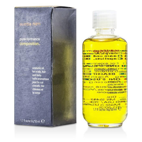 Aveda Men Pure-Formance Composition Aromatic Oil (For Scalp, Hair and Body) 50ml/1.7oz-Haircare-Cherry Birch