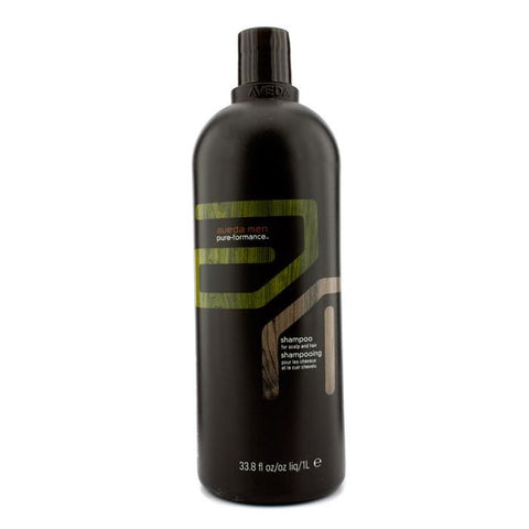 Aveda Men Pure-Formance Shampoo (For Scalp and Hair) 1000ml/33.8oz-Haircare-Cherry Birch