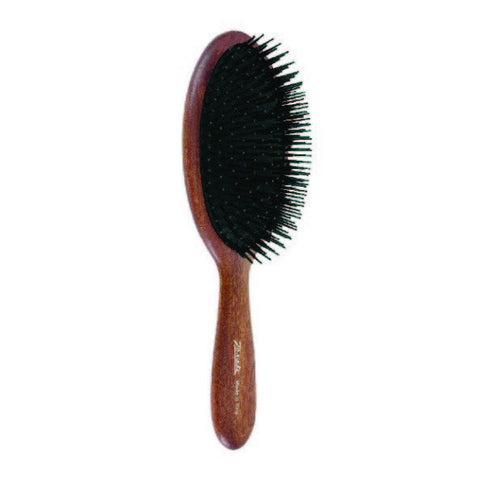 Bobinga Wood Classic Hairbrush-Brushes-Cherry Birch