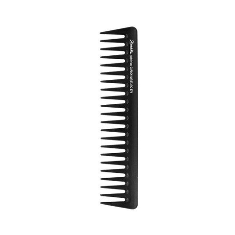 Carbon Fibre Wide Tooth Comb-Combs-Cherry Birch