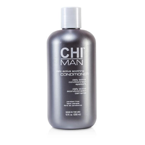 CHI Man Daily Active Soothing Conditioner 350ml/12oz-Haircare-Cherry Birch