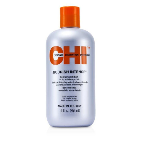 CHI Nourish Intense Hydrating Silk Bath (For Dry & Damaged Hair) 350ml/12oz-Haircare-Cherry Birch