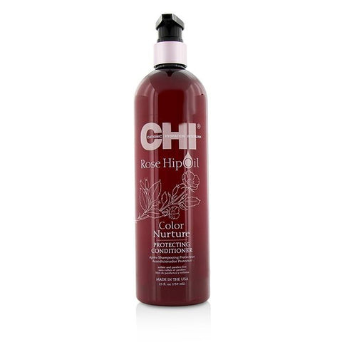 CHI Rose Hip Oil Color Nurture Protecting Conditioner 739ml/25oz-Haircare-Cherry Birch