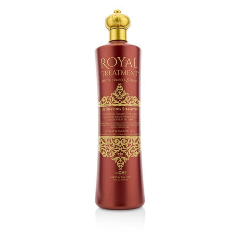 CHI Royal Treatment Hydrating Shampoo (For Dry, Damaged and Overworked Color-Treated Hair) 946ml/32oz-Haircare-Cherry Birch