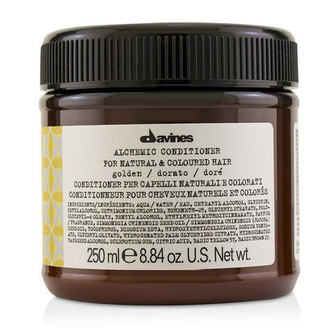 Davines Alchemic Conditioner - # Golden (For Natural & Coloured Hair) 250ml/8.84oz-Haircare-Cherry Birch