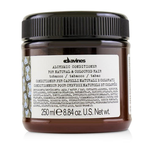 Davines Alchemic Conditioner - # Tobacco (For Natural & Coloured Hair) 250ml/8.84oz-Haircare-Cherry Birch