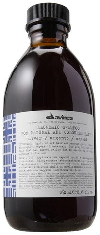 Davines Alchemic Silver Shampoo 250ml-Haircare-Cherry Birch
