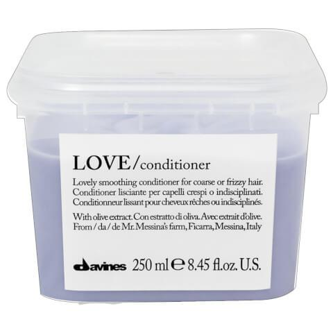 Davines LOVE Conditioner Smoothing 250ml-Haircare-Cherry Birch