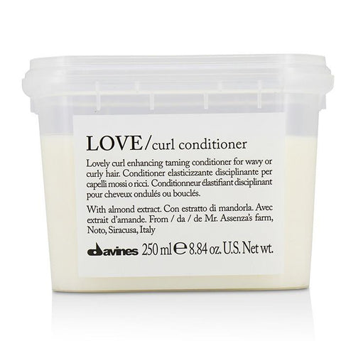 Davines Love Lovely Curl Enhancing Taming Conditioner (For Wavy or Curly Hair) 250ml/8.84oz-Haircare-Cherry Birch