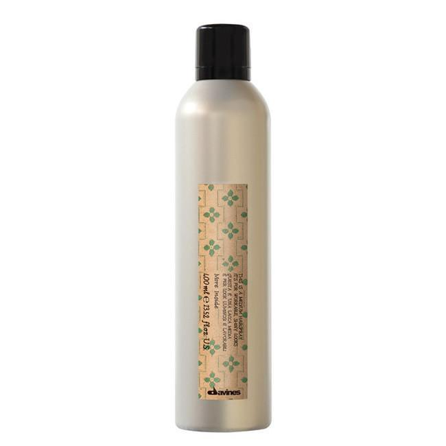 Davines - Medium Hold Hair Spray 400ml - More Inside Range-Styling-Cherry Birch