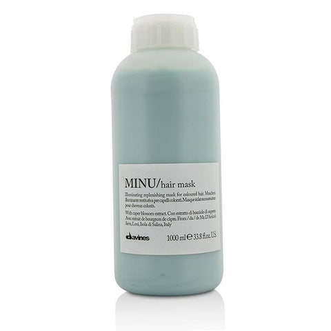 Davines Minu Pak Illuminating Replenishing Mask (For Coloured Hair) 1000ml/33.8oz-Haircare-Cherry Birch