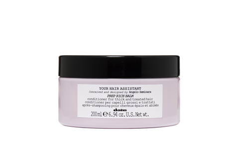 Davines - Prep Rich Balm 200ml - Your Hair Assistant Range by Angelo Seminara-Haircare-Cherry Birch