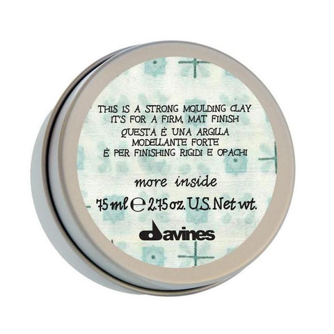 Davines - Strong Moulding Clay 75ml - More Inside Range-Styling-Cherry Birch