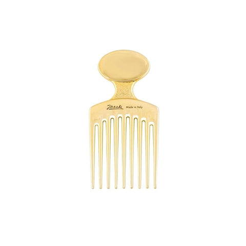 Gold Afro Comb-Combs-Cherry Birch