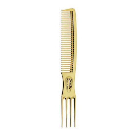 Gold Teasing Comb-Combs-Cherry Birch