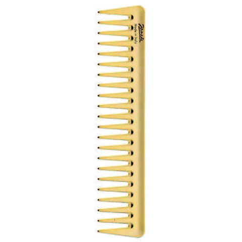Gold Wide Tooth Comb-Combs-Cherry Birch