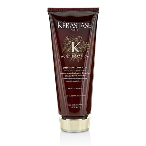 Kerastase Aura Botanica Soin Fondamental Intense Moisturizing Conditioner (For Dull, Devitalized Hair) 200ml/6.8oz-Haircare-Cherry Birch
