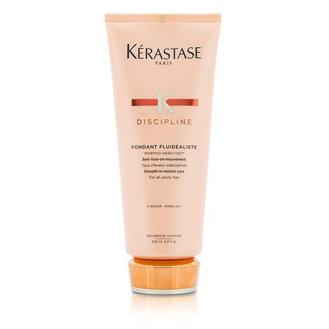 Kerastase Discipline Fondant Fluidealiste Smooth-in-Motion Care - For All Unruly Hair (New Packaging) 200ml/6.8oz-Haircare-Cherry Birch
