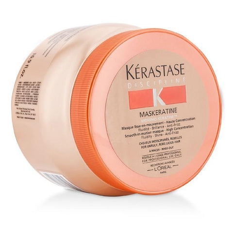 Kerastase Discipline Maskeratine Smooth-in-Motion Masque - High Concentration (For Unruly, Rebellious Hair) 500ml/16.9oz-Haircare-Cherry Birch