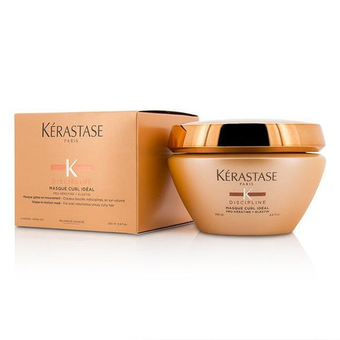 Kerastase Discipline Masque Curl Ideal Shape-in-Motion Masque (For Overly-Voluminous Curly Hair) 200ml/6.8oz-Haircare-Cherry Birch