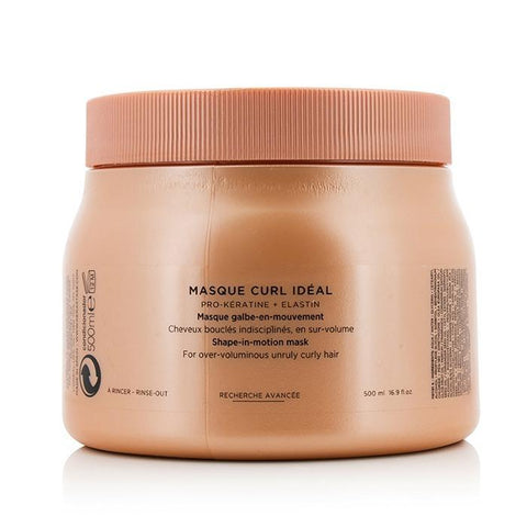 Kerastase Discipline Masque Curl Ideal Shape-in-Motion Masque (For Overly-Voluminous Curly Hair) 500ml/16.9oz-Haircare-Cherry Birch