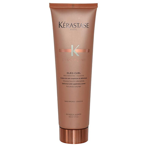 Kerastase Discipline Oleo-Curl Definition and Suppleness Creme (For Unruly Curly Hair) 150ml/5.1oz-Haircare-Cherry Birch