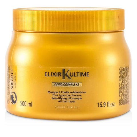 Kerastase Elixir Ultime Oleo-Complexe Beautifying Oil Masque (For All Hair Types) 500ml/16.9oz-Haircare-Cherry Birch