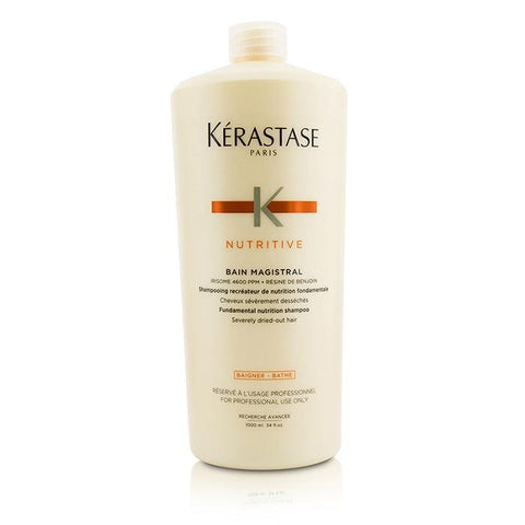 Kerastase Nutritive Bain Magistral Fundamental Nutrition Shampoo (Severely Dried-Out Hair) 1000ml/33.8oz-Haircare-Cherry Birch