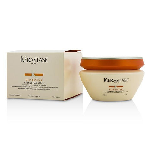 Kerastase Nutritive Masque Magistral Fundamental Nutrition Masque (Severely Dried-Out Hair) 200ml/6.8oz-Haircare-Cherry Birch