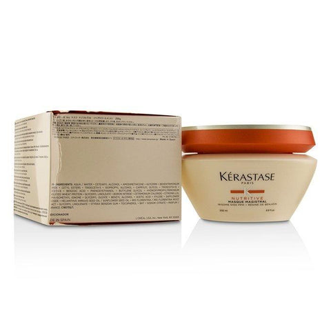 Kerastase Nutritive Masque Magistral Fundamental Nutrition Masque - Severely Dried-Out Hair (Box Slightly Dama 200ml/6.8oz-Haircare-Cherry Birch