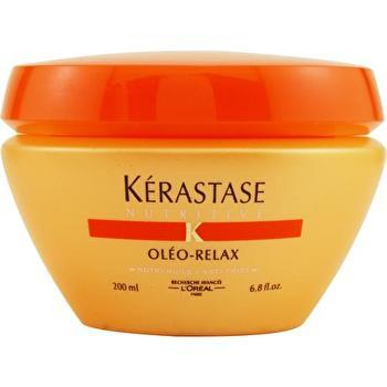 Kerastase Nutritive Oleo-Relax Smoothing Mask (Dry & Rebellious Hair) 200ml/6.8oz-Haircare-Cherry Birch