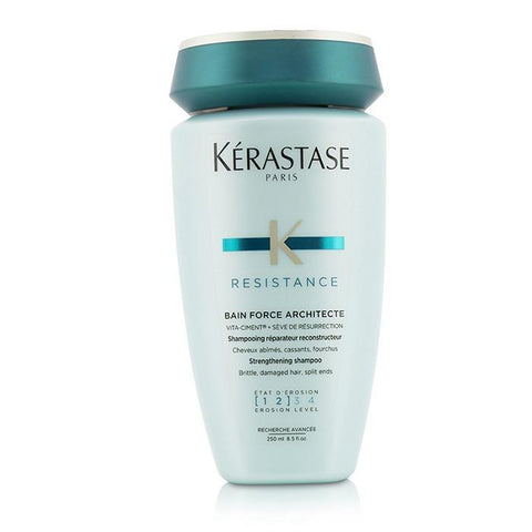 Kerastase Resistance Bain Force Architecte Strengthening Shampoo (For Brittle, Damaged Hair, Split Ends) 250ml/8.5oz-Haircare-Cherry Birch