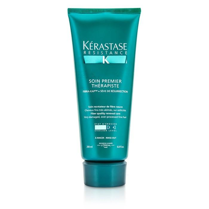 Kerastase Resistance Soin Premier Therapiste Fiber Quality Renewal Care (For Very Damaged, Over-Porcessed Fine Hair) 200ml/6.8oz-Haircare-Cherry Birch