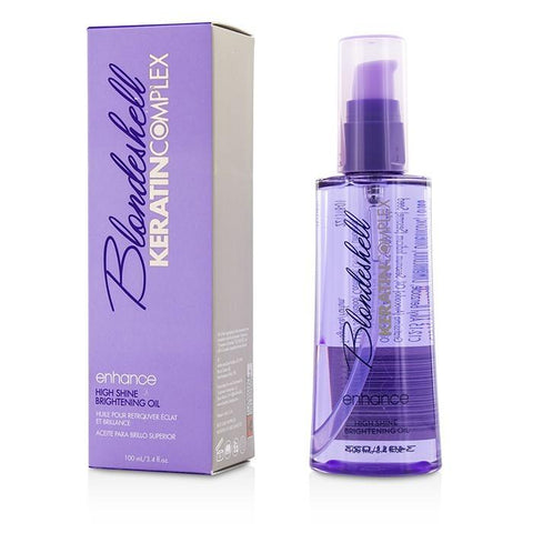 Keratin Complex Blondeshell Enhance High Shine Brightening Oil 100ml/3.4oz-Haircare-Cherry Birch